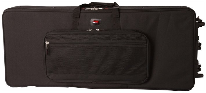 76-Note Keyboard Case with Wheels