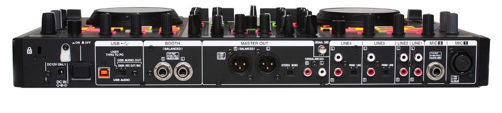 DJ Mixer And Controller