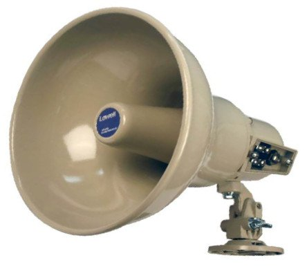 15W Re-Entrant Horn in Almond Finish