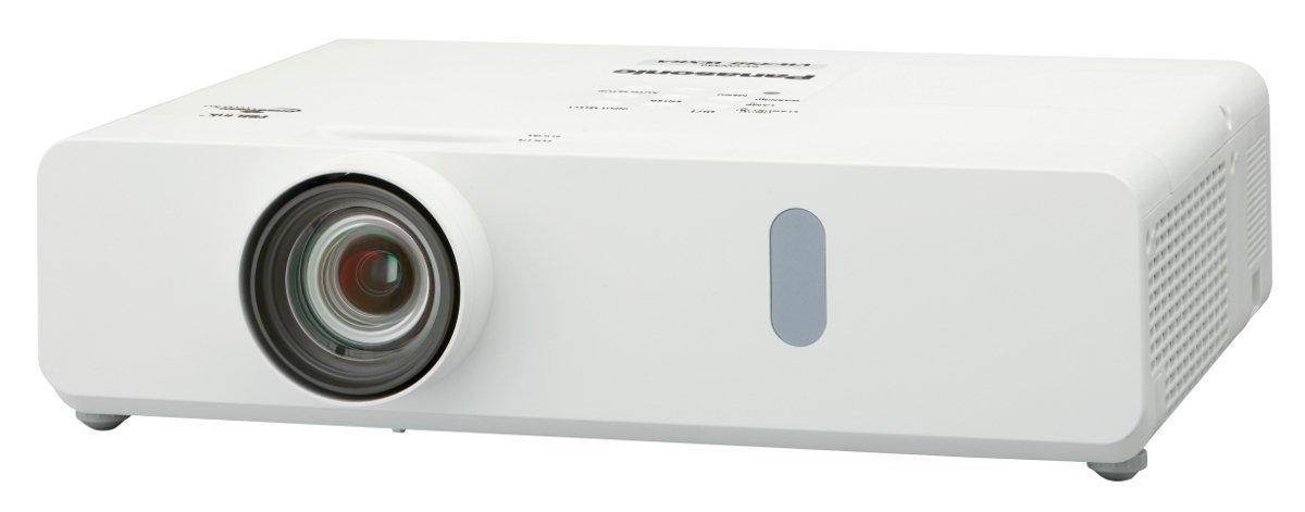 3700 Lumen WXGA LCD Projector in White with Wireless Function
