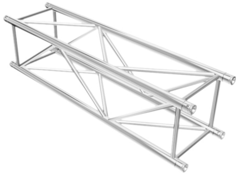 3.28ft F44P Square Truss Segment