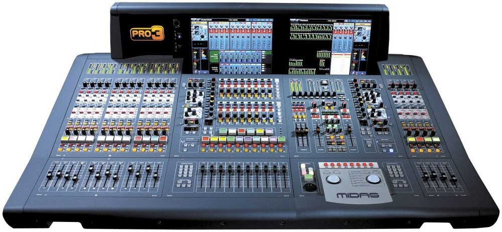 48 Input Live Audio Mixing System - Touring Package