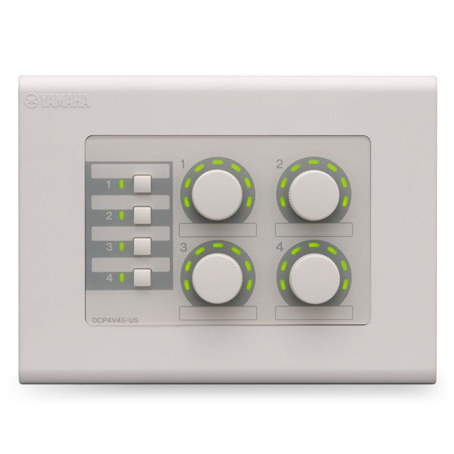4-Volume / 4-Switch Control Panel for MTX Series