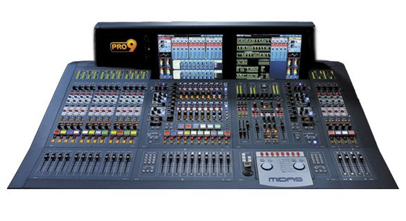 80-Input Live Audio Mixing System - Touring Package
