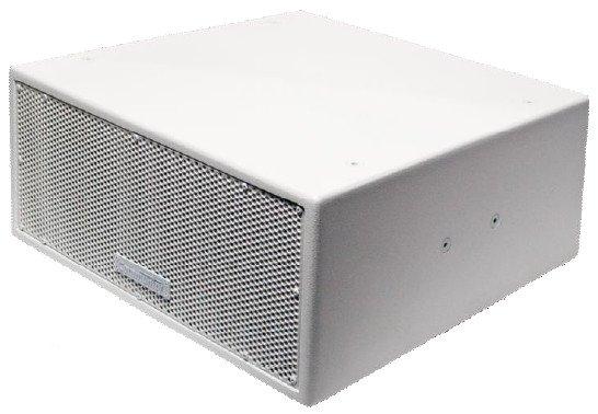 """Dual 8"""" Compact Install Subwoofer in White"""
