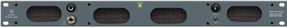 1RU Dual Source Stereo Analog Audio Monitor Switch
