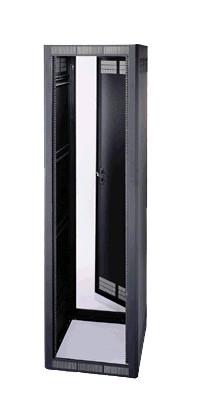 """44RU 32""""Deep Stand-Alone Rack with Door"""
