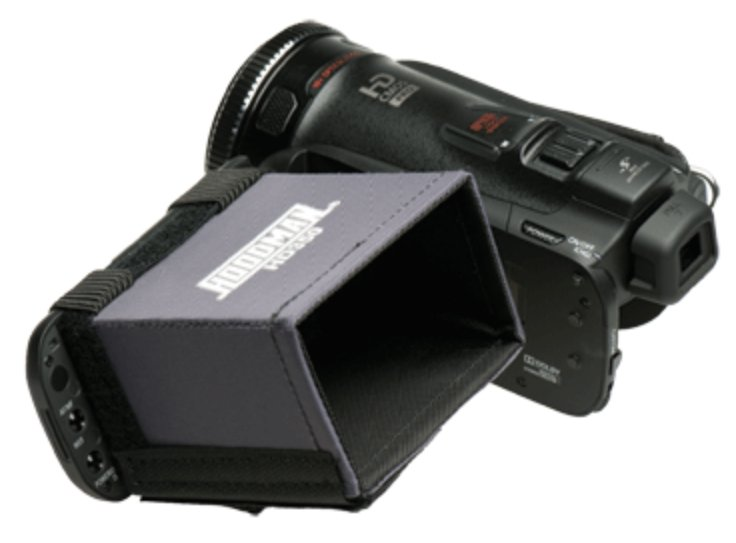 Video Hi Def 16x9 LCD Camcorder Hood