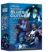 eMedia Music Corporation Master Blues Guitar Blues Guitar Lesson Software for Mac MASTER-BLUES-GTR-MAC