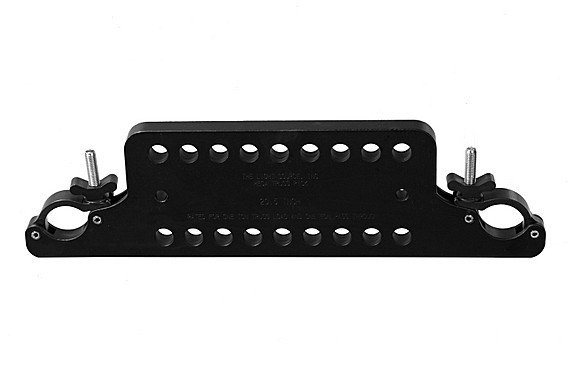 "20.5"" 1-Ton Multi-Hole Mega-Truss Pick in Black"
