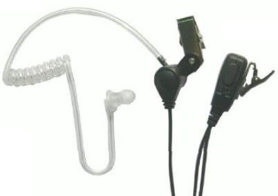 SST Headset with the MC-1000 Lapel Mic