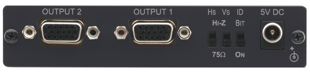 "Amp Dist 1""2 XGA DA w/KR-ISP"