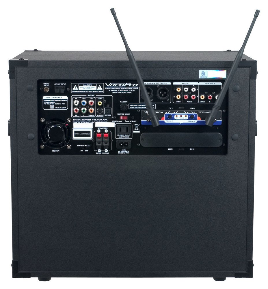 4-Channel Multi-Format Portable PA
