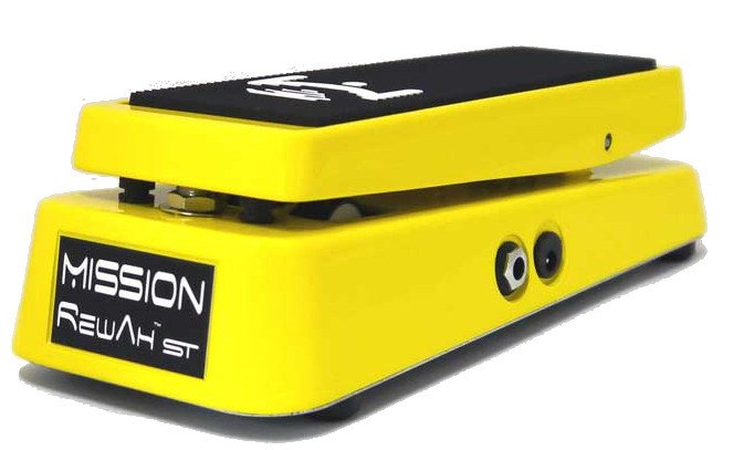 Tone-Switchable Wah-Wah Pedal in Yellow