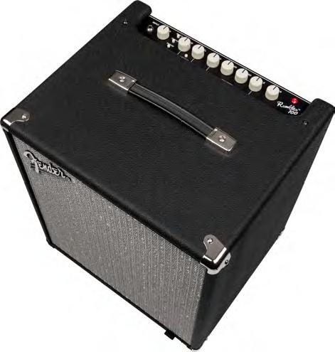 "Fender Rumble 100 100W 1x12"" Bass Combo Amplifier RUMBLE-100"