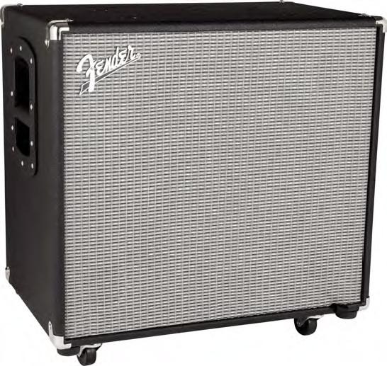 Fender Rumble 115 1x15 600w Bass Speaker Cabinet Full