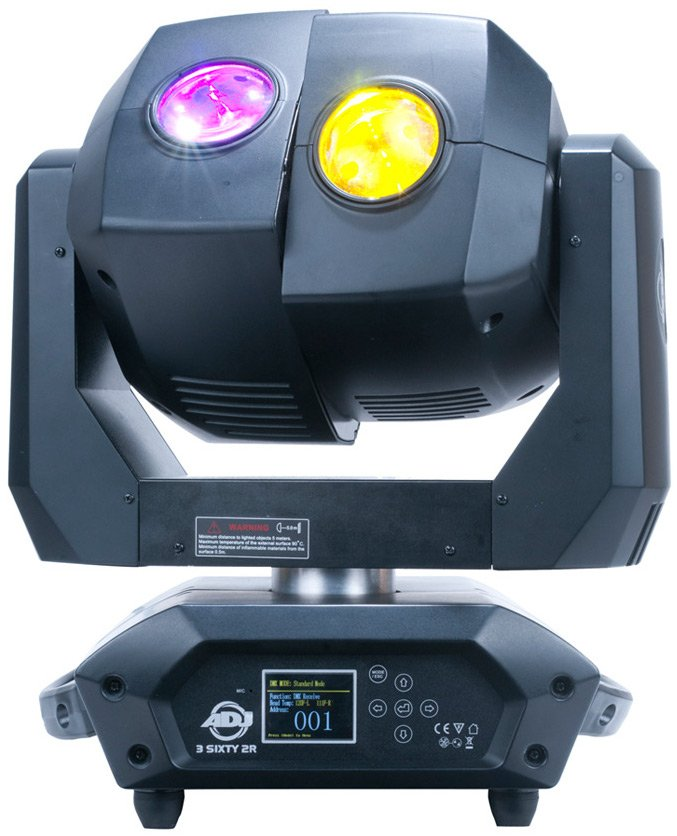 Dual Moving Head Fixture