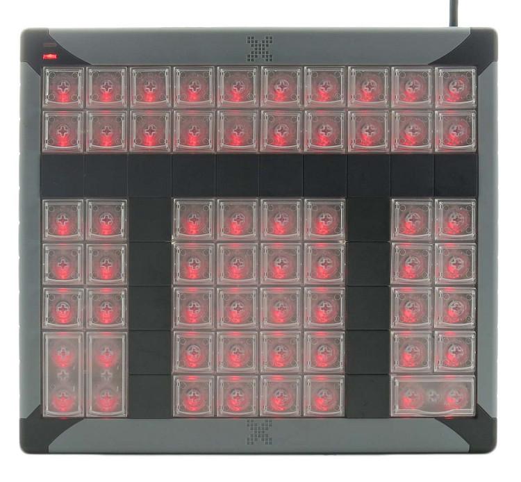 60-Key Programmable USB Keypad