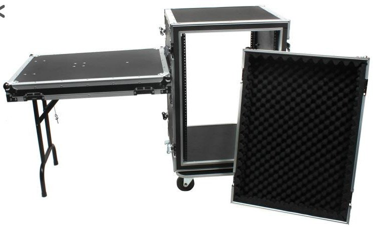 20 RU Shock Rack with Table