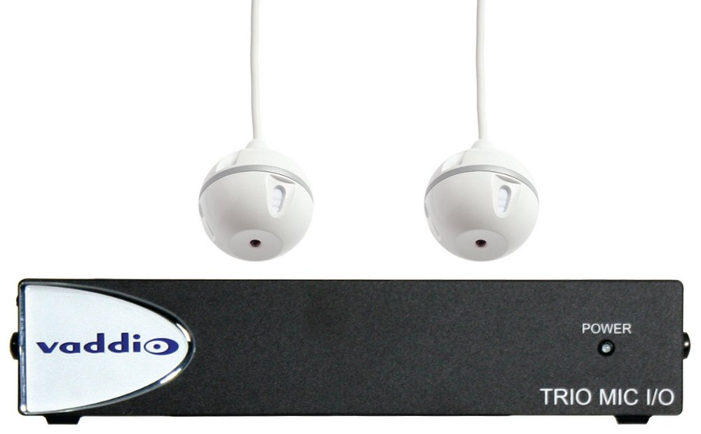 TRIO Audio Bundle System A - Breakout Interface with TRIO Acoustic Echo Canceling Microphones