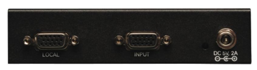 VGA over Cat5 Extender 4-Port Transmitter