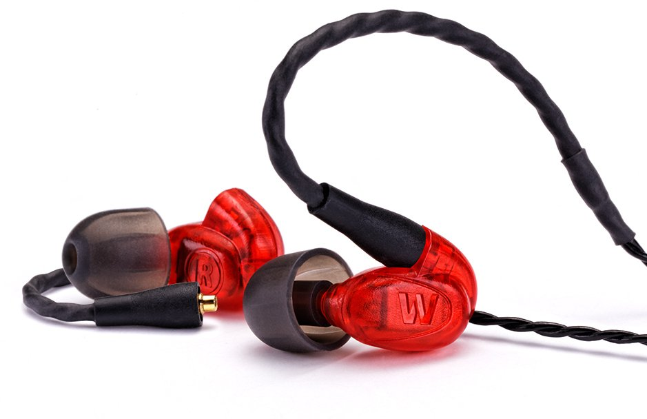 High-Performance Single Driver Earphone Monitors with Removable Cable