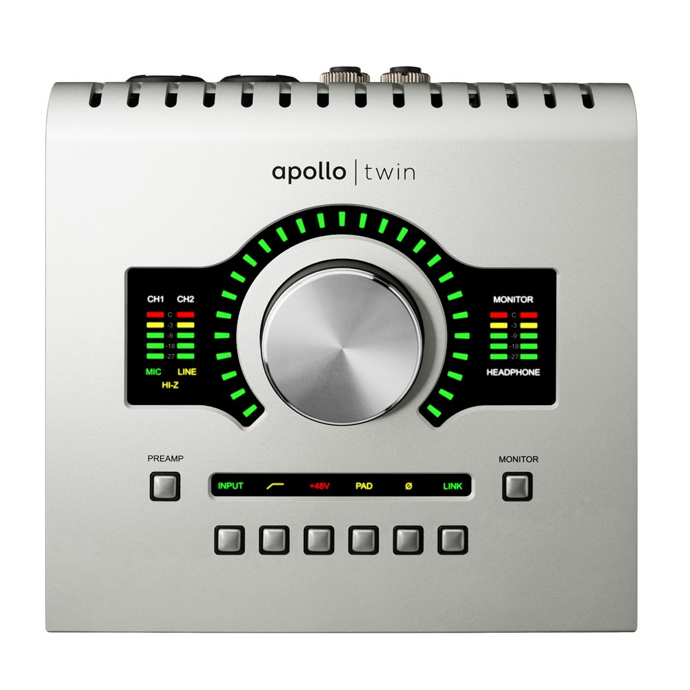 Desktop 2x6 Thunderbolt Audio Interface with UAD-2 Duo Processing