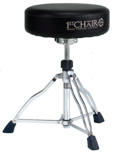 "1st Chair ""Flat Top"" Round Rider Trio Drum Throne"