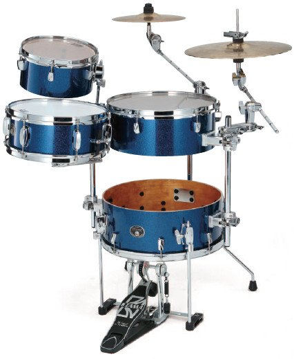 "Cymbal Holder for Silverstar ""Cocktail-JAM"" Kit in Indigo Sparkle Finish"