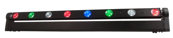 8-Zone RGBW LED Moving Bar Fixture