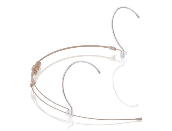 H6 Omnidirectional Headset Microphone in Tan with AT Hirose 4-Pin Connectors