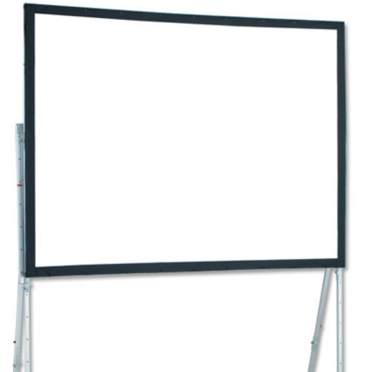 "16' 8"" NTSC Ultimate Folding Portable Projection Screen with CineFlex Surface"