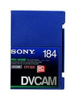 DVCAM Video Cassette, 184 Mins.