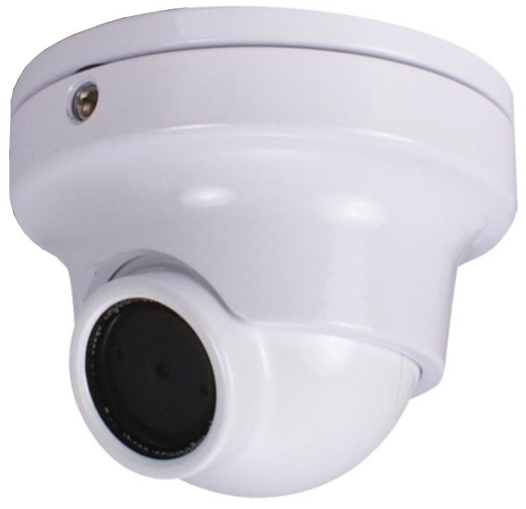 Minature Color Wide Angle Camera in White