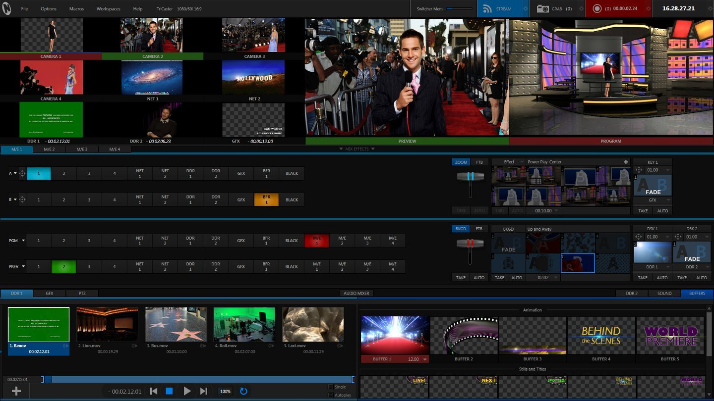 NewTek TC460U Software Upgrade from TriCaster 455 to 460 TC460U