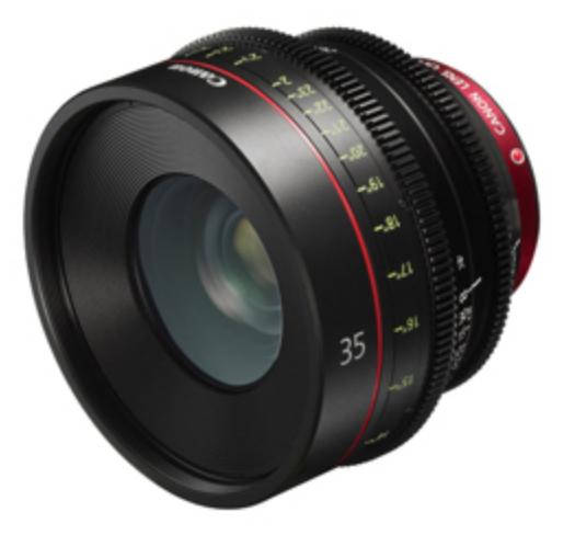 Cinema Prime CN-E35mm T1.5 L F Lens