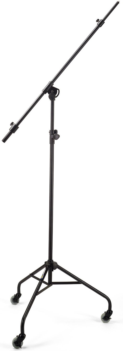 Samson SB100 Studio Microphone Boom Stand with Collapsible Rolling Tripod Base SB100