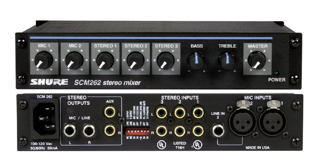 Stereo Microphone Mixer