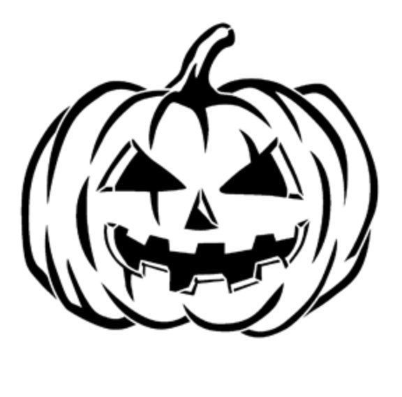 Pumpkin Traditional Steel Gobo
