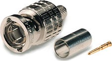 BNC Crimp-Type Connector for LV77S