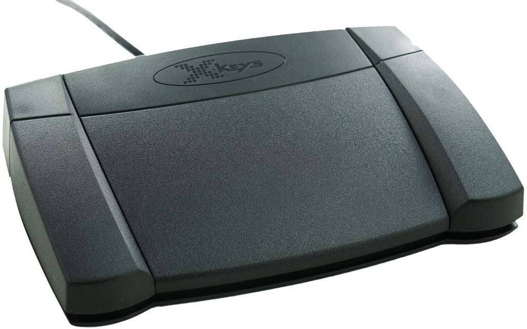 Programmable Front Hinged USB Foot Pedal