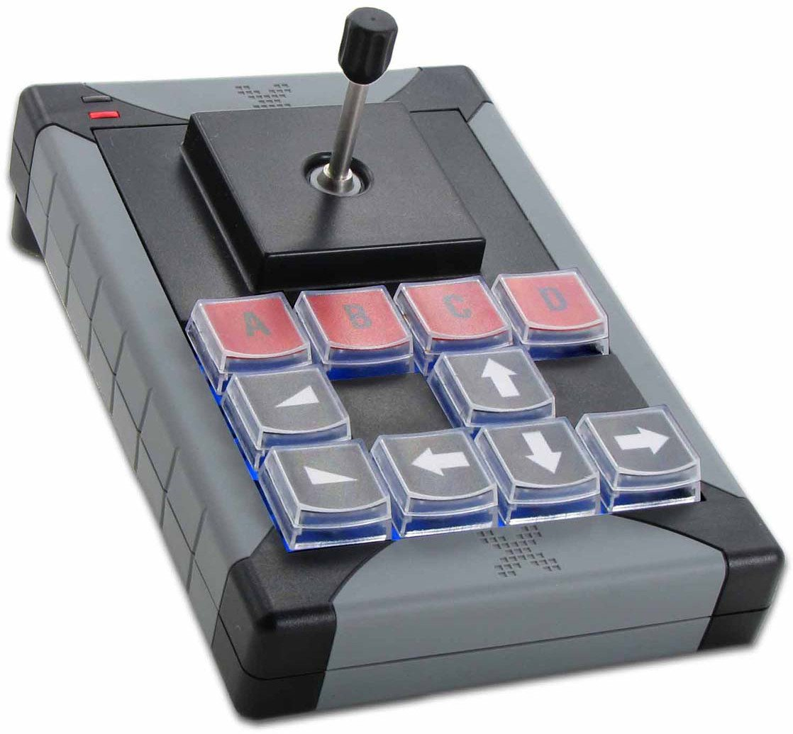 12-Key Programmable USB Keypad with Joystick