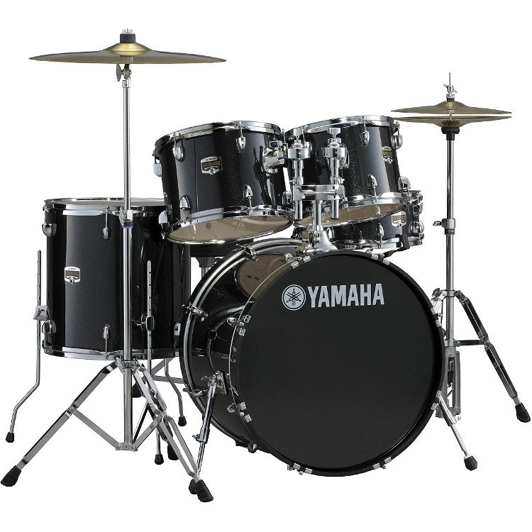 GigMaker 5-Piece Drum Set with Hardware and Wuhan Cymbals