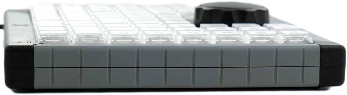 68-Key Programmable USB Keyboard with Jog/Shuttle Wheel