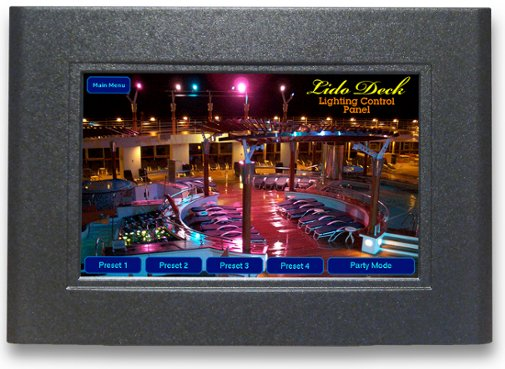 CueTouch LCD Touchscreen