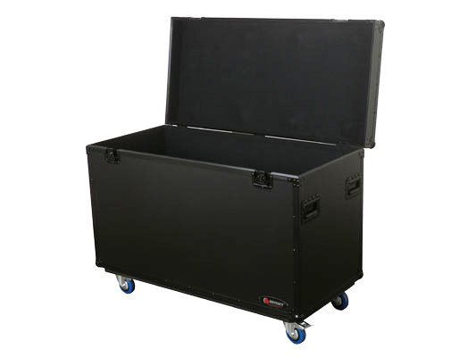 "Odyssey Odyssey Flight Cases Black Truck Pack Case v1 46"" x 21.5"" x 27.5"" Truck Pack Case FZTP1WBL"