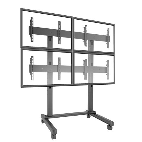 Fusion 2x2 Video Wall Cart