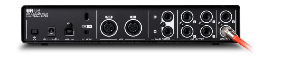 6x4 USB 2.0 Audio MIDI Interface