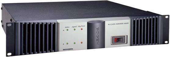 Power Amplifier, Stereo 600W/Ch @ 4-Ohms, 400W/Ch @ 8-Ohms, 1200W @ 70V mono