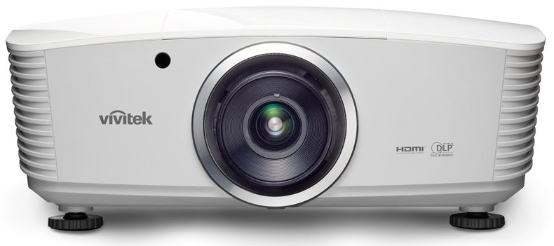4700 Lumens 1080p 3D Multimedia Projector for Large Venues with No Lens